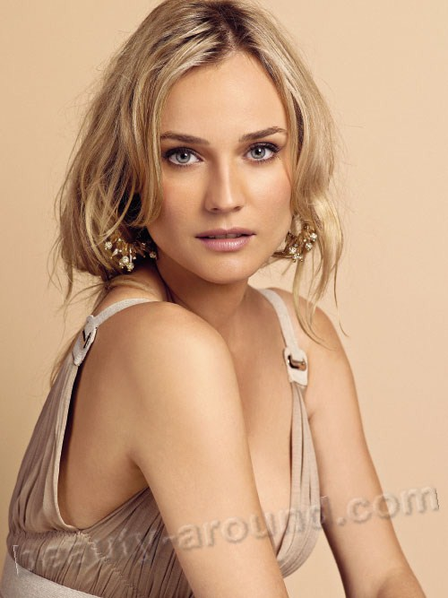 Beautiful German Women - Diane Kruger German photomodel
