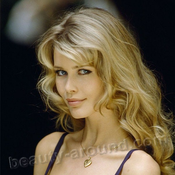 Beautiful German Women - Claudia Schiffer german top model