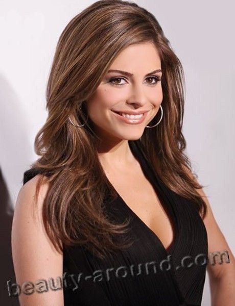 Beaurtiful Greek Women Maria Menounos American photomodel and TV host Greek origin
