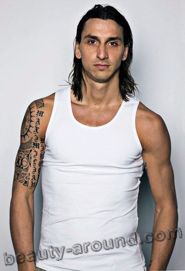 Zlatan Ibrahimović  is a Swedish professional footballer with gypsy roots