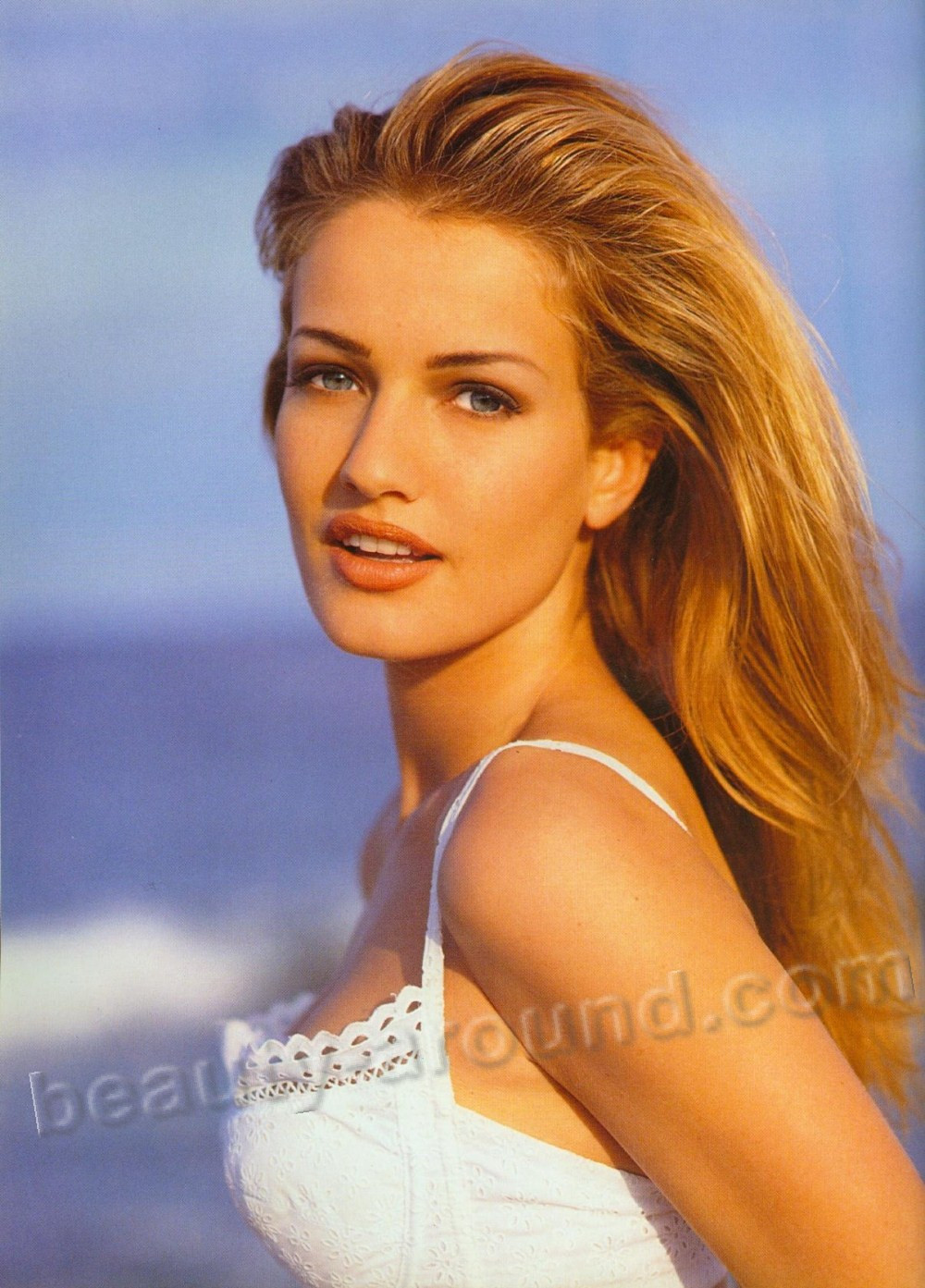 Beautiful Dutch Women. Karen Mulder Dutch singer and former model. photo