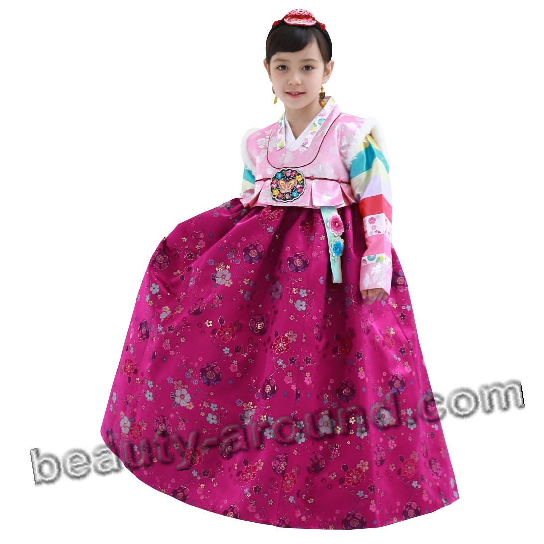 Hanbok for girl photo
