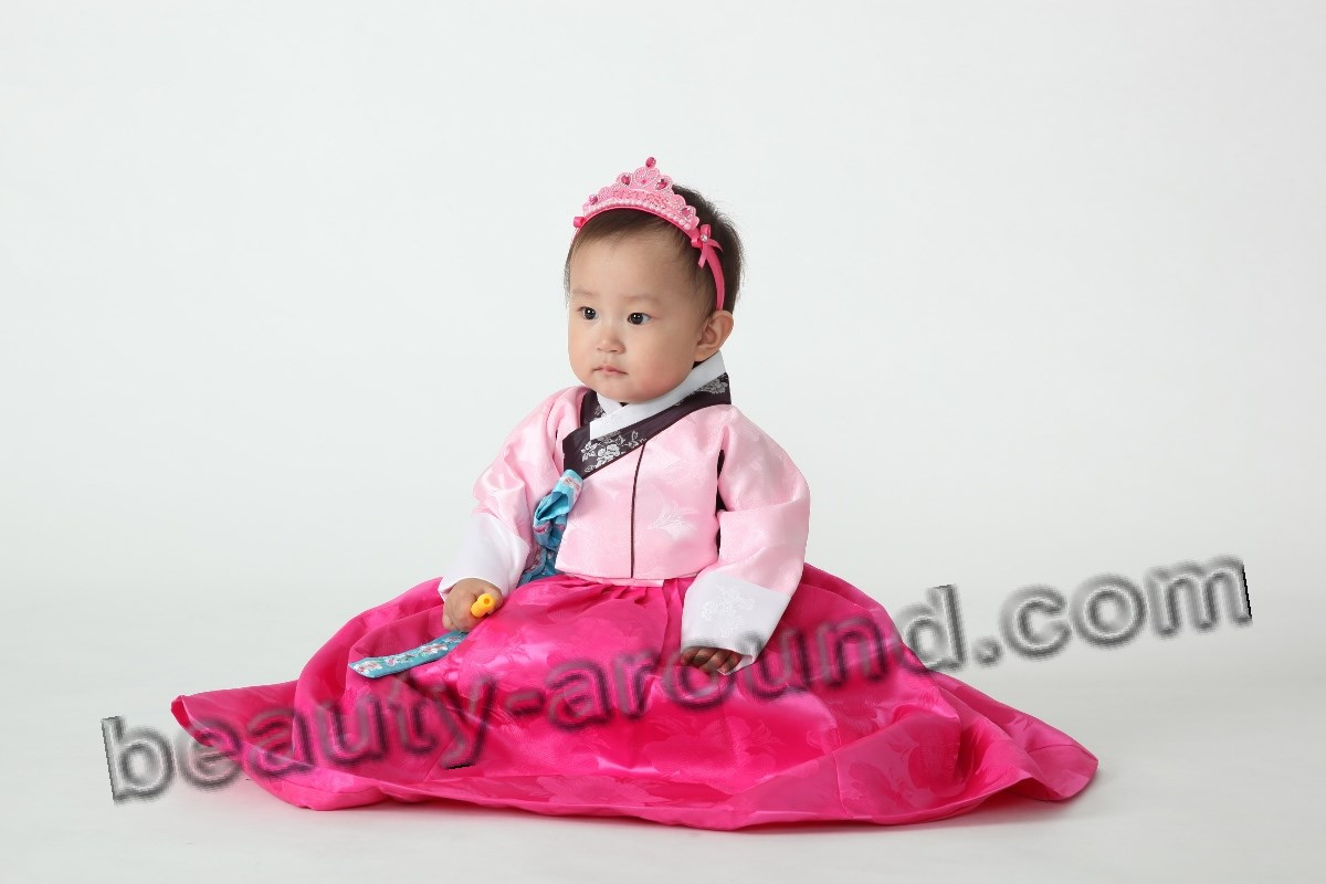 Children's hanbok photo