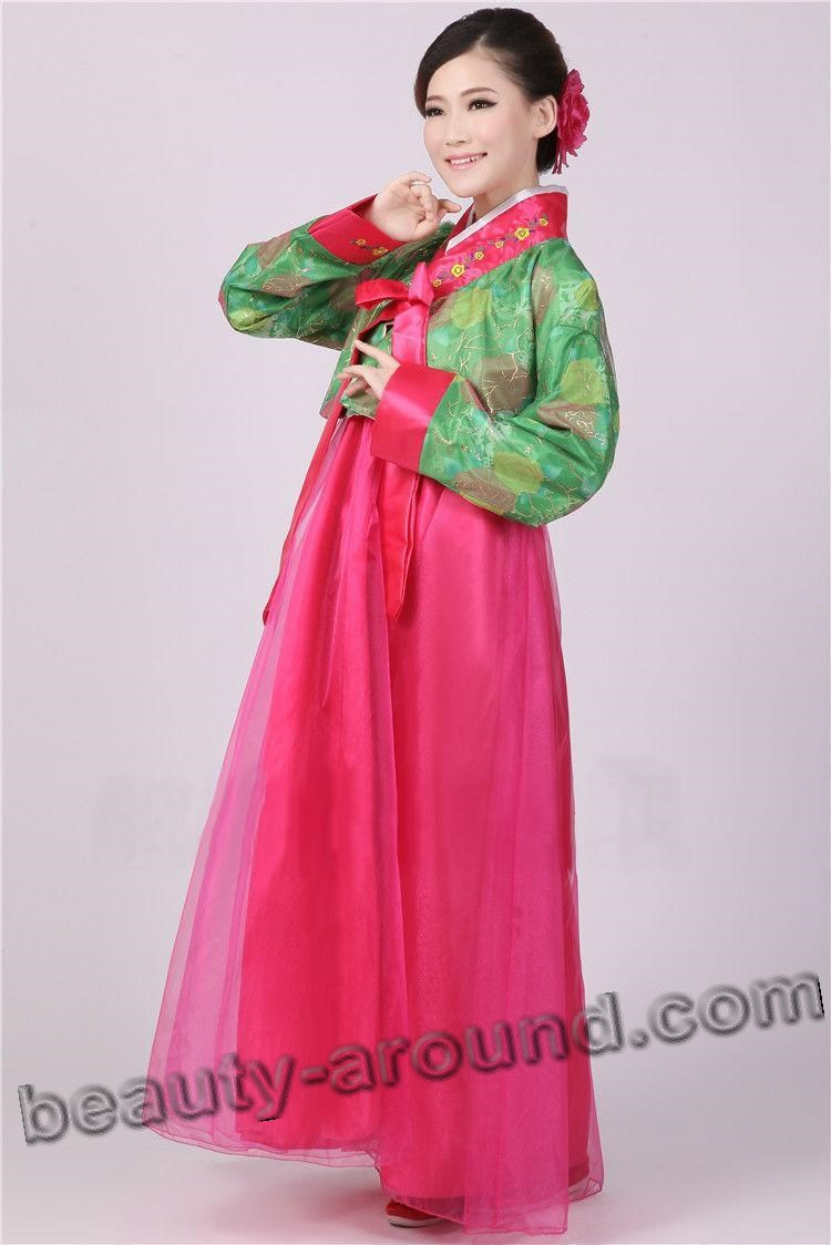 Korean clothes Hanbok photo
