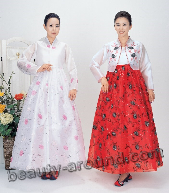 Modern Korean dress: Hanbok pictures