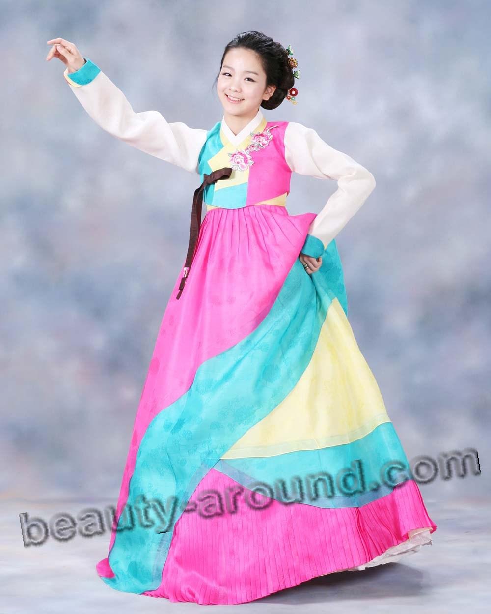 Красивый ханбок фото