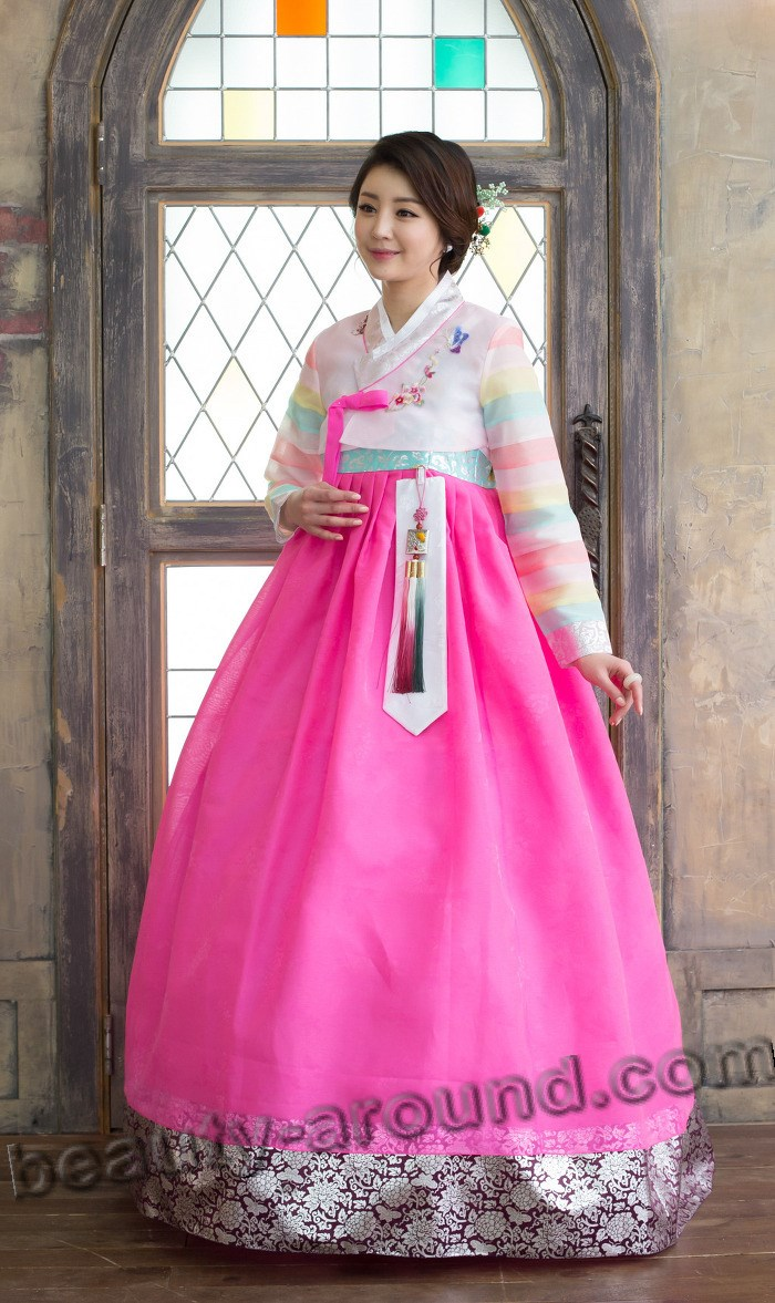 Rose Hanbok photo