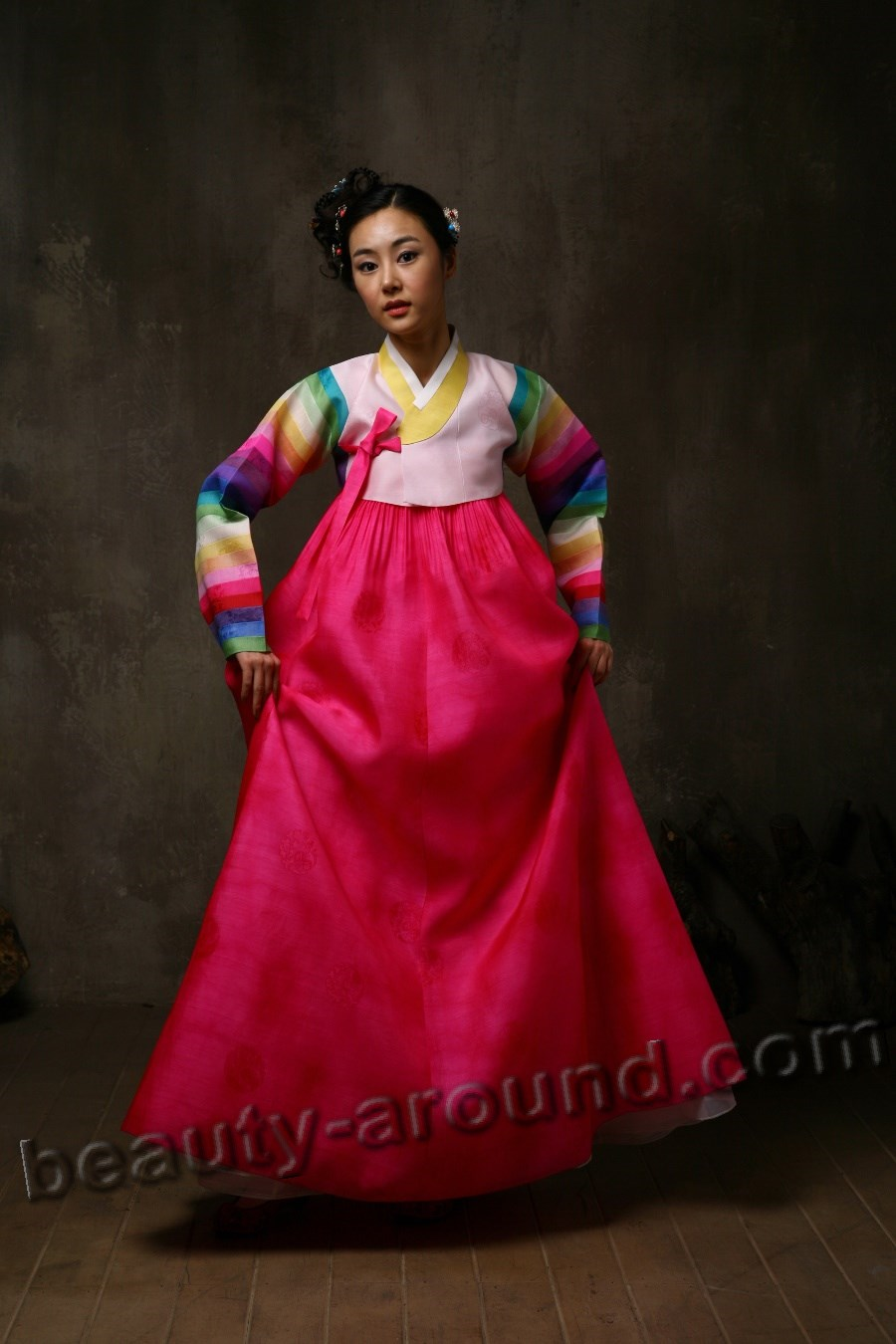 Cultural clothing of Korea Hanbok