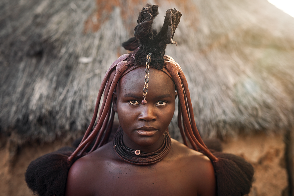 Himba tribe of Africa photo