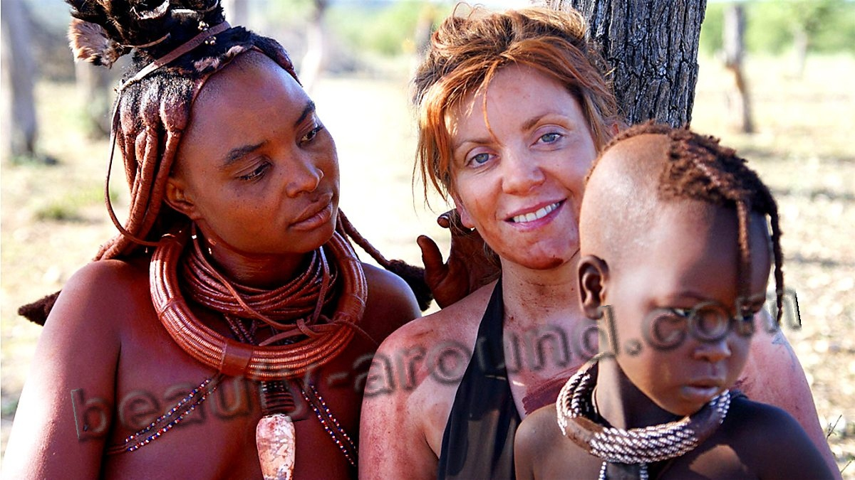 amazing tribe of Himba photo