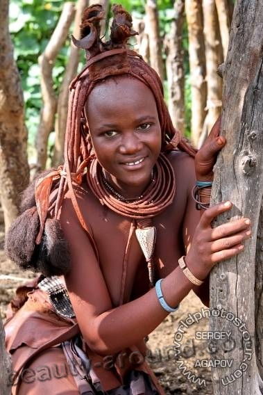 himba beautiful tribe picture