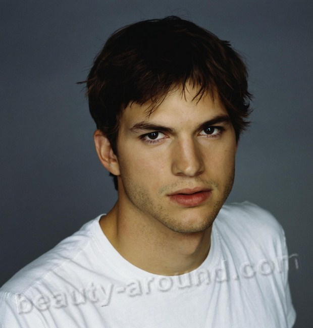 Christopher Ashton Kutcher most beautiful American actor photos