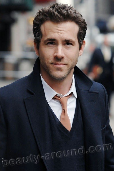 Ryan Rodney Reynolds  beautiful Canadian actor