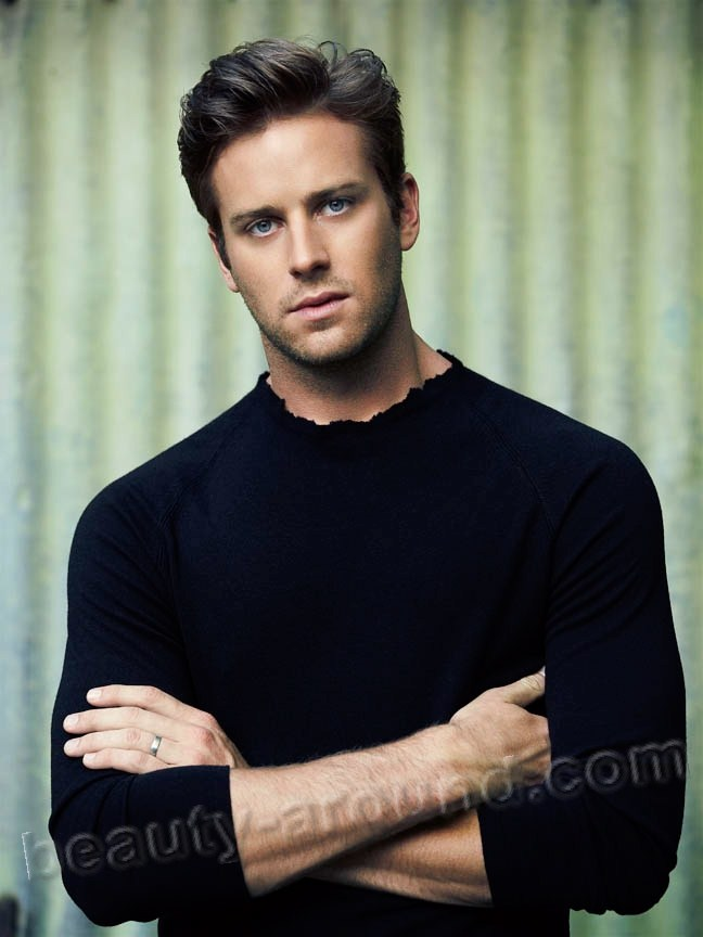 Armand Douglas «Armie» Hammer most beautiful Hollywood actor photos