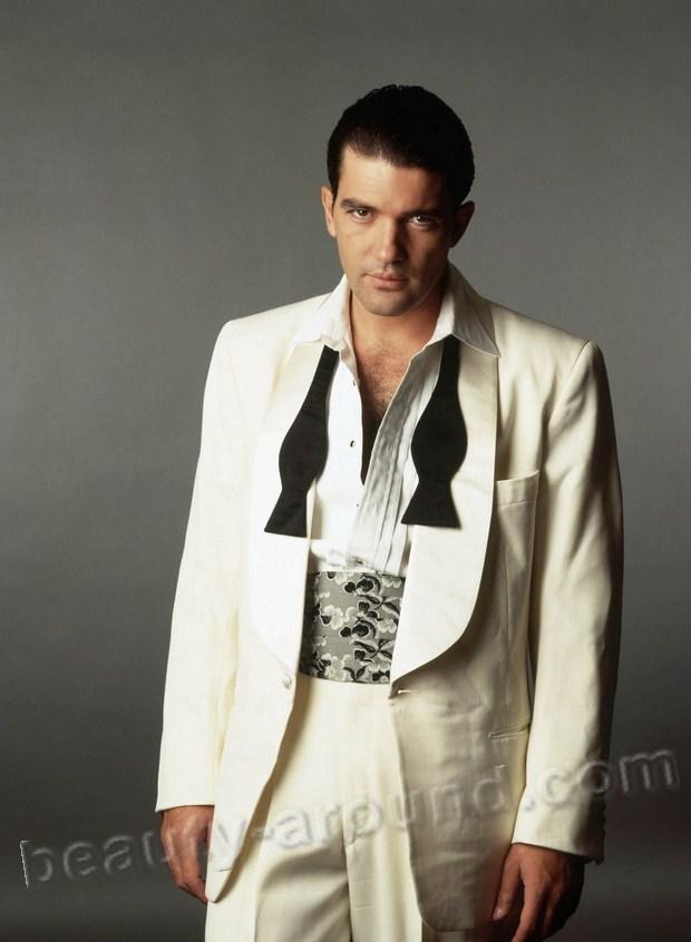 самые красивые голливудские актеры фото Хосе Антонио Домингес Бандерас / Jose Antonio Dominguez Banderas