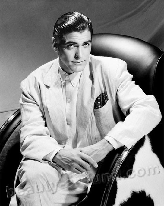 самые красивые голливудские актеры Джордж Клуни / George Timothy Clooney