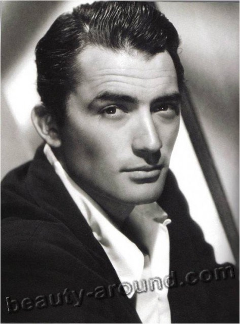 Gregory Peck,  popular Hollywood actor