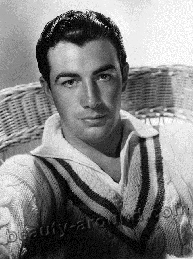 Robert Taylor, opular American film and television actor