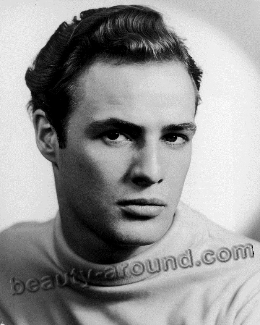 Marlon Brando, American actor and political activist