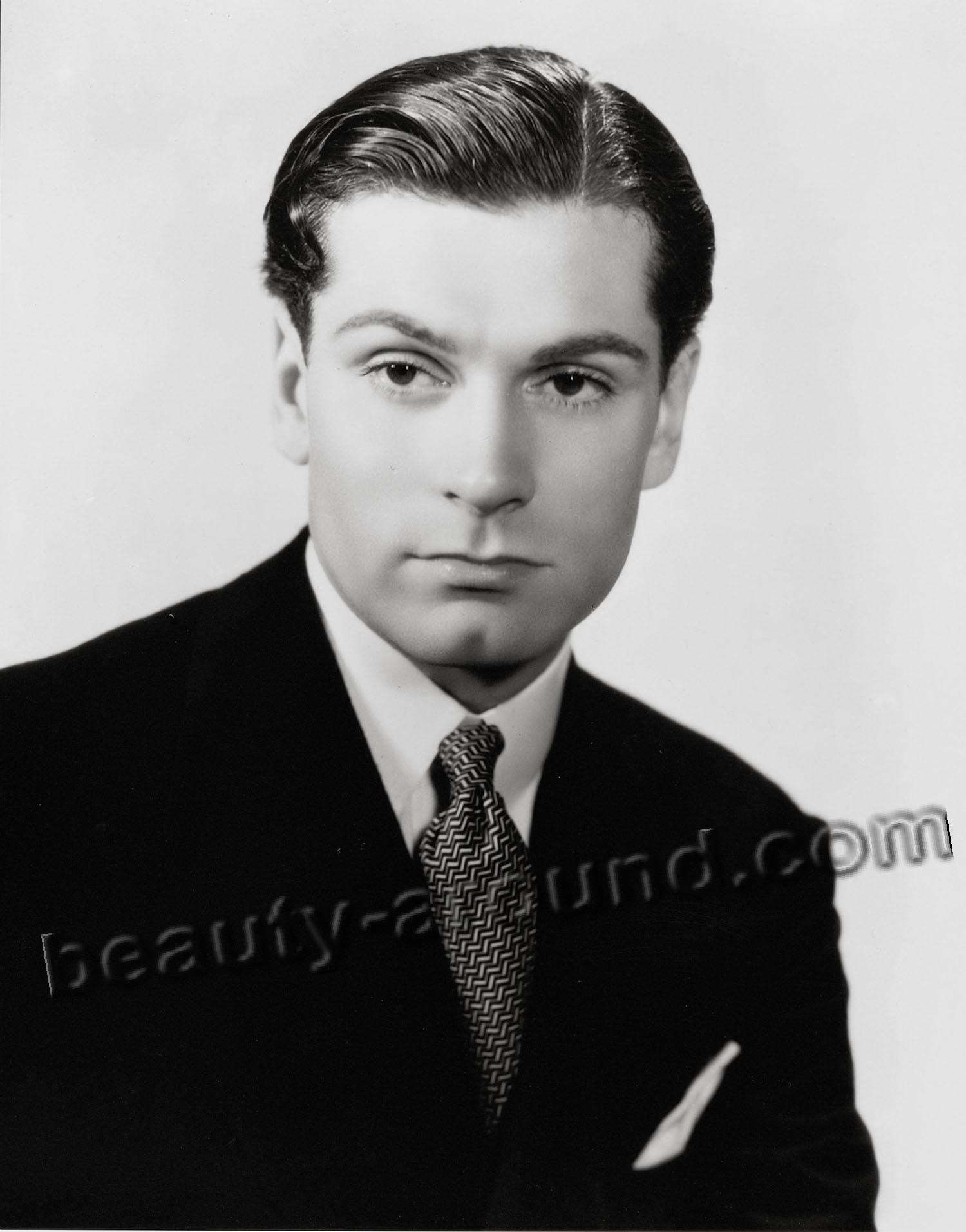 Laurence Olivier, British film and theater actor