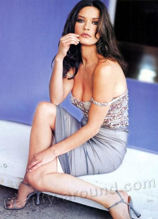 Дама Кэтрин Зета-Джонс / Dame Catherine Zeta-Jones самая сексуальная британская актриса в Голливуде