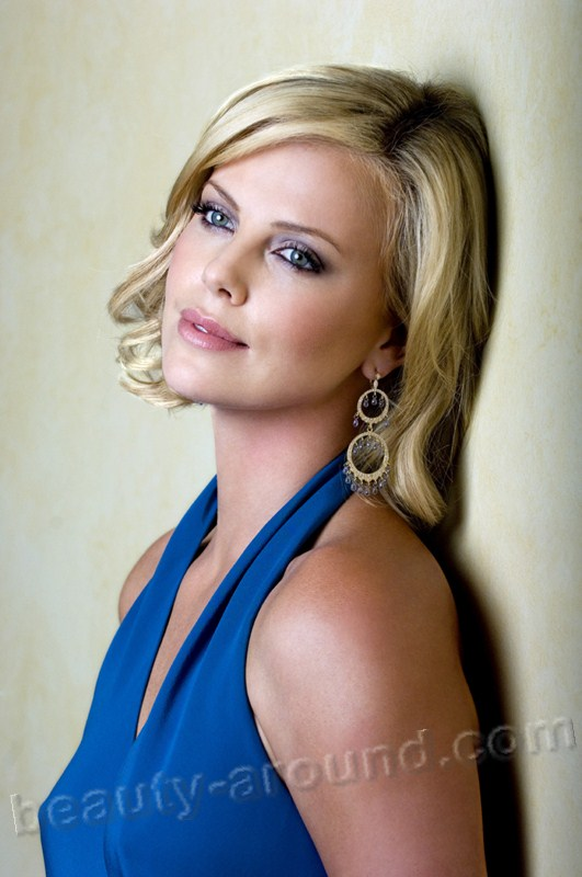 Charlize Theron most beautiful American actress photos