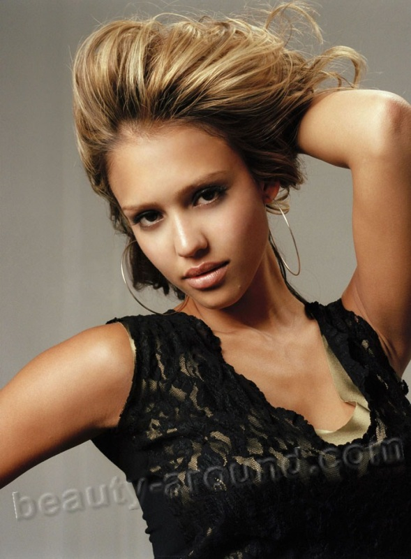Jessica Alba beautiful American actress in the world photos