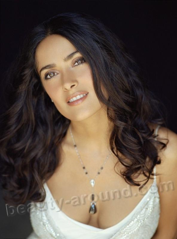 Сальма Вальгарма Хайек / Salma Valgarma Hayek очень красивая голливудская мексиканская актриса