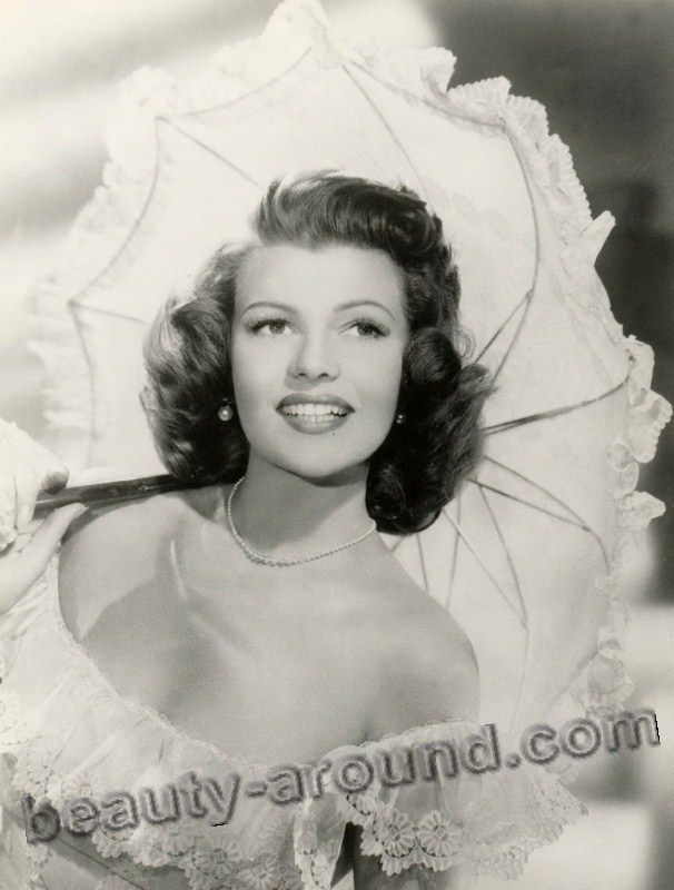 old Hollywood actresses photos, Rita Hayworth photo, american actress - sex-symbol of old Hollywood