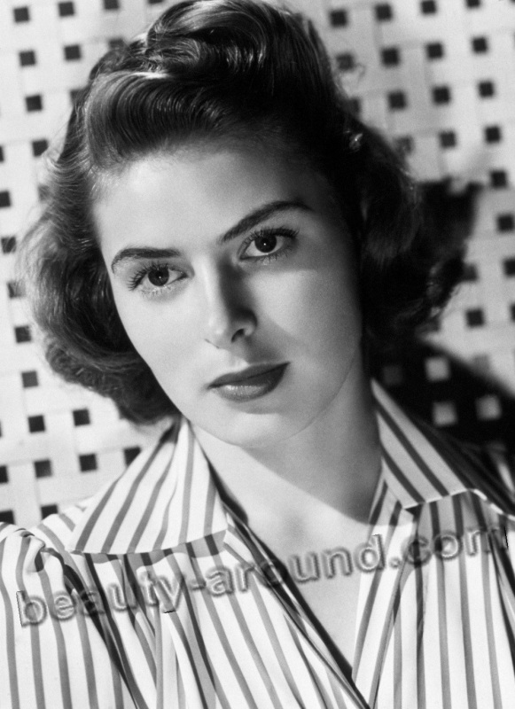 old Hollywood actresses photos, Ingrid Bergman photo, sweden and american actress