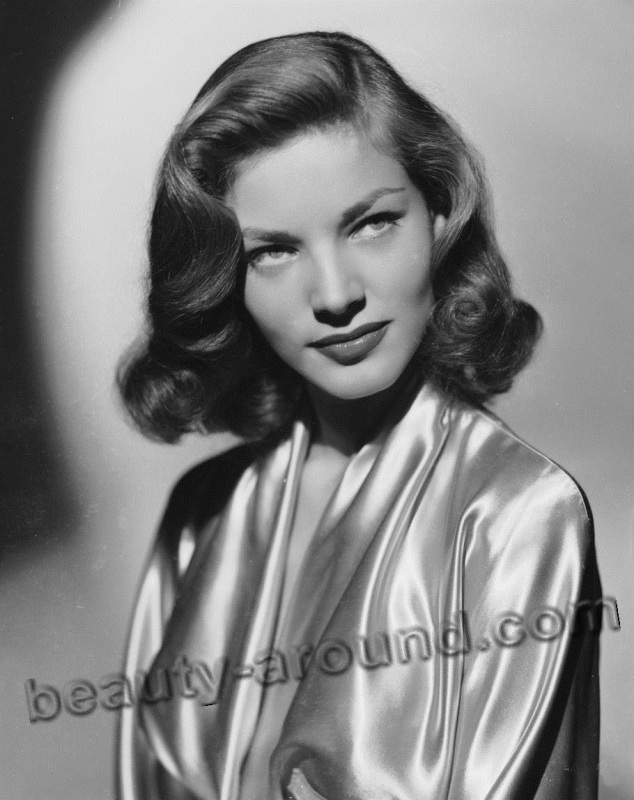 old Hollywood actresses photos, Lauren Bacall photo, american actress of old Hollywood