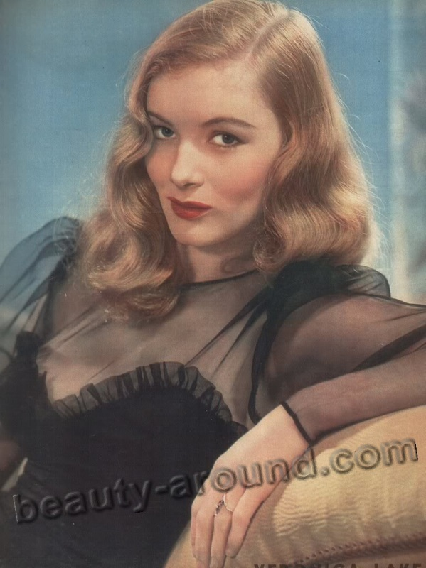 old Hollywood actresses photos, Veronica Lake photo