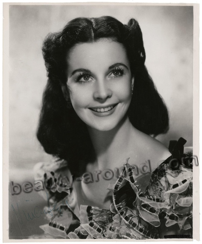 old Hollywood actresses photos, Vivien Leigh photo, old Hollywood actress from England