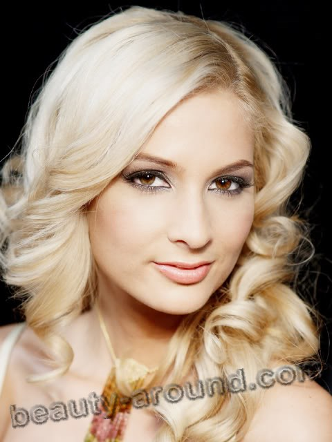beautiful Hungarian women, Maximovits Anett miss Hungary 2009