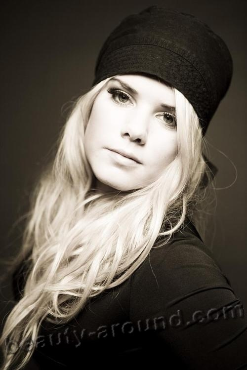 Beautiful Iceland Women. Jóhanna Icelandic singer photo