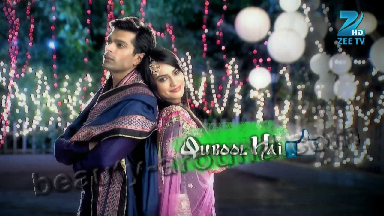 Interesting Indian serials Qubool Hai posters and photos