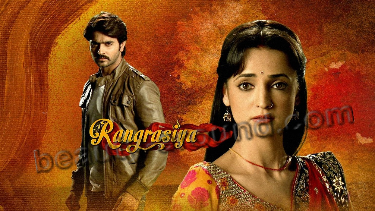 Indian TV serial Rang Rasiya poster