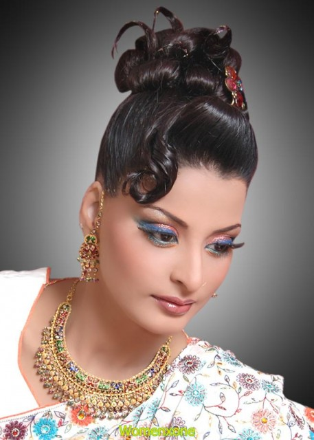 Indian make-up best photos