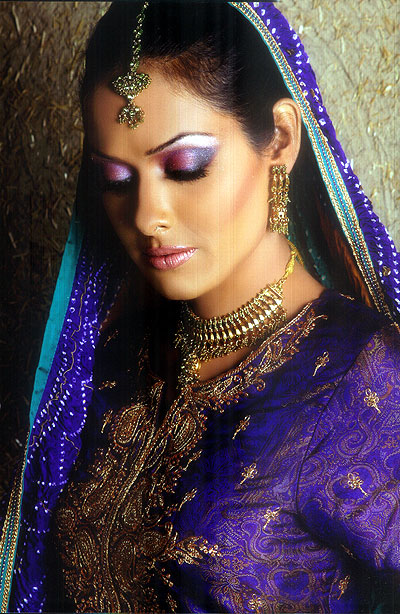 The Indian make-up photos