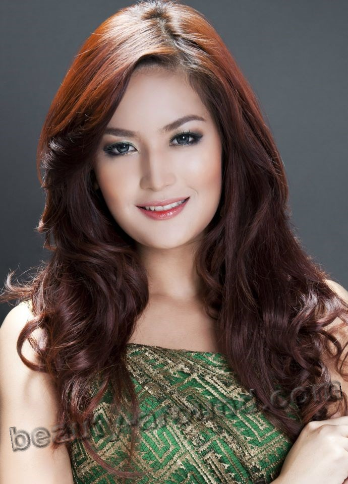 Maria Selena photo, winner miss Indonesia 2011, Indonesian women photos