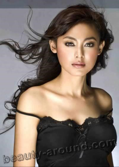 miss Puteri Indonesia 2013 winner, Whulandary Herman photo, beautiful women from Indonesia