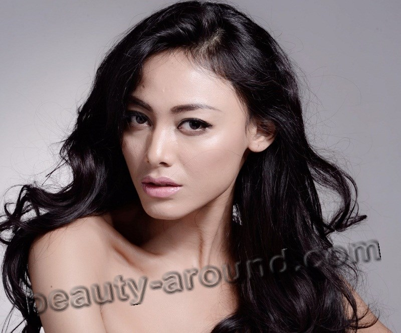 beautiful Indonesian women photos, Whulandary Herman photo, contestant miss Universe 2013