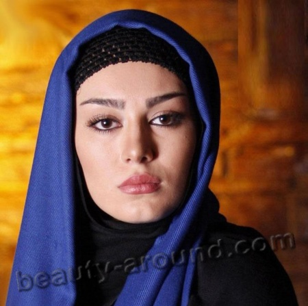 Sahar Ghoreishi iranian beauty under the hijab photo