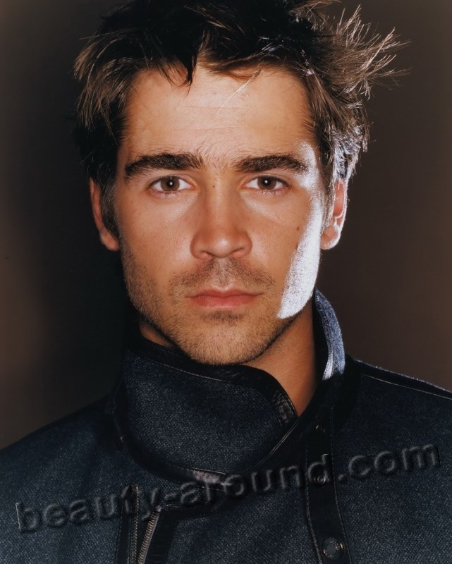 Handsome Irish Men Colin Farrell Irish film actor