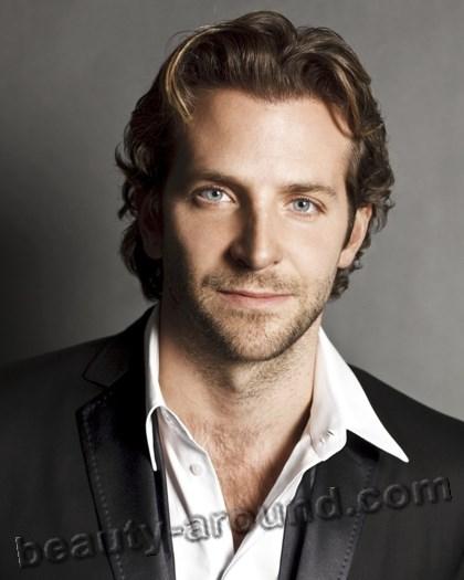 Handsome Irish Men Bradley Cooper, American actor