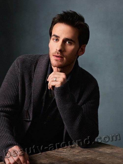 Handsome Irish Men Colin O'Donoghue, Irish actor