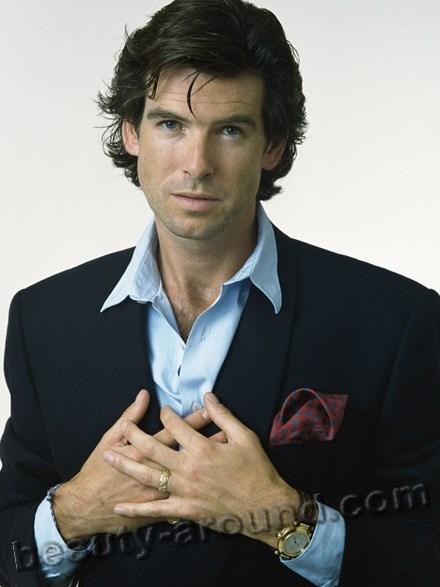 Handsome Irish Men - Pierce Brosnan, Irish Bond
