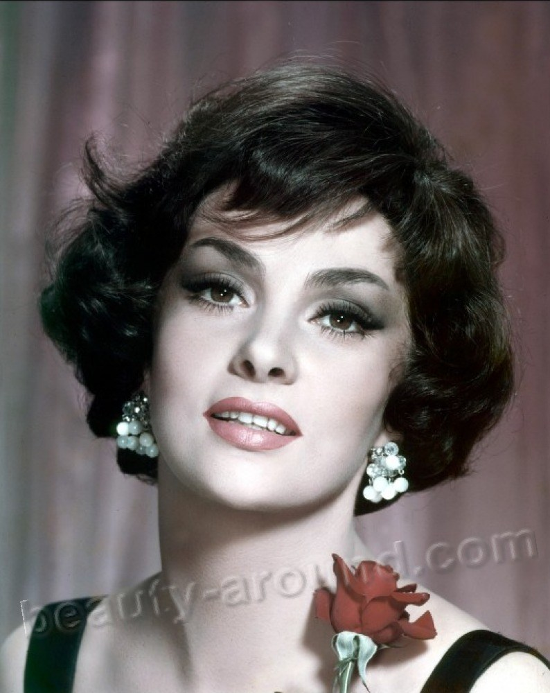 Beautiful Italian Women.Gina Lollobrigida famous Italian actress