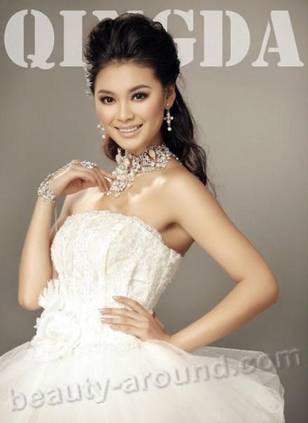 """Ю Вен Ся / Yu Wen Xia  китайская модель """"Мисс Мира-2012"""