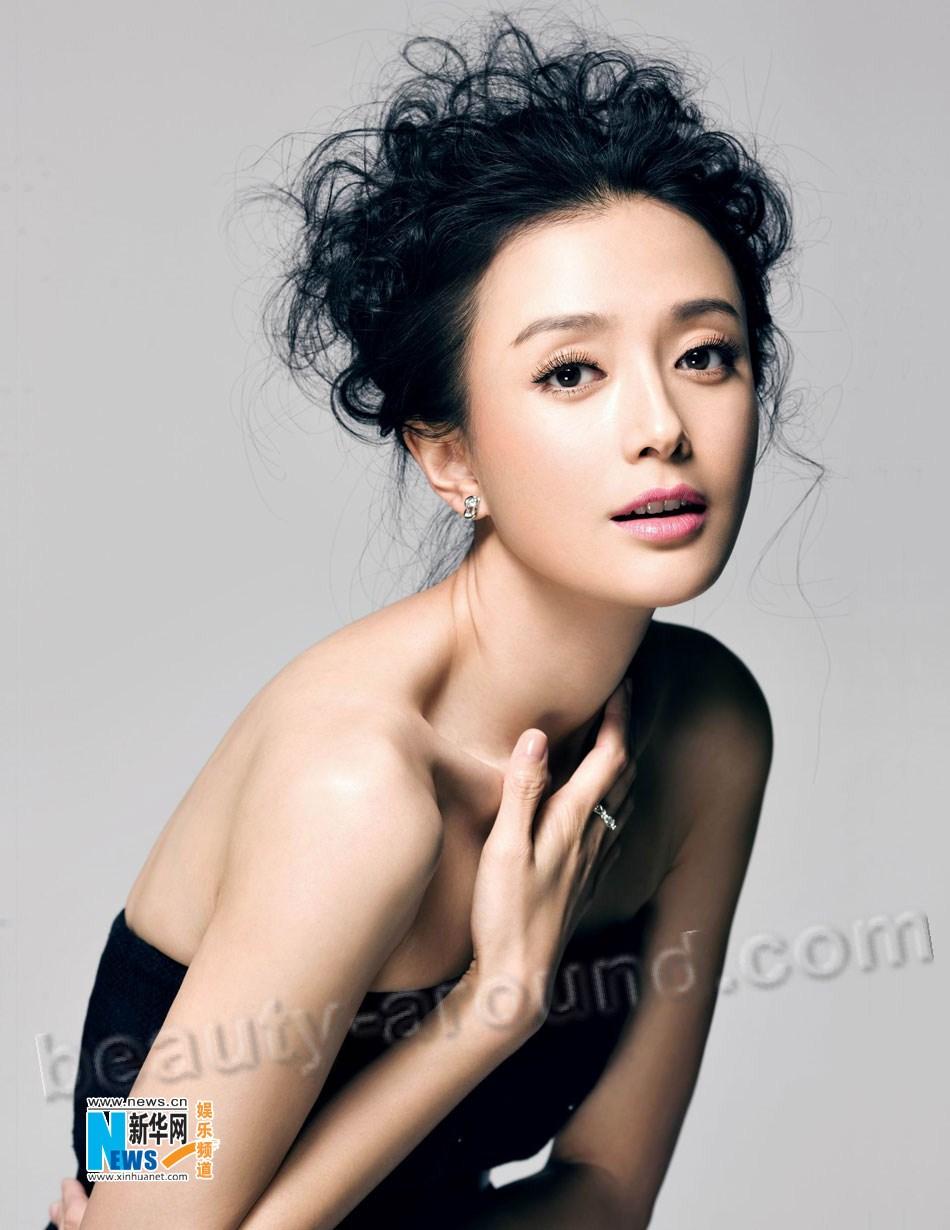 Цинь Лан / Qin Lan самая красивая китайская модель, актриса и певица